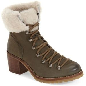 Steve by Steve Madden Shearling Booties